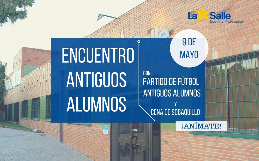 ¡Te esperamos en el Encuentro de Antiguos Alumnos del jueves 9 de mayo!