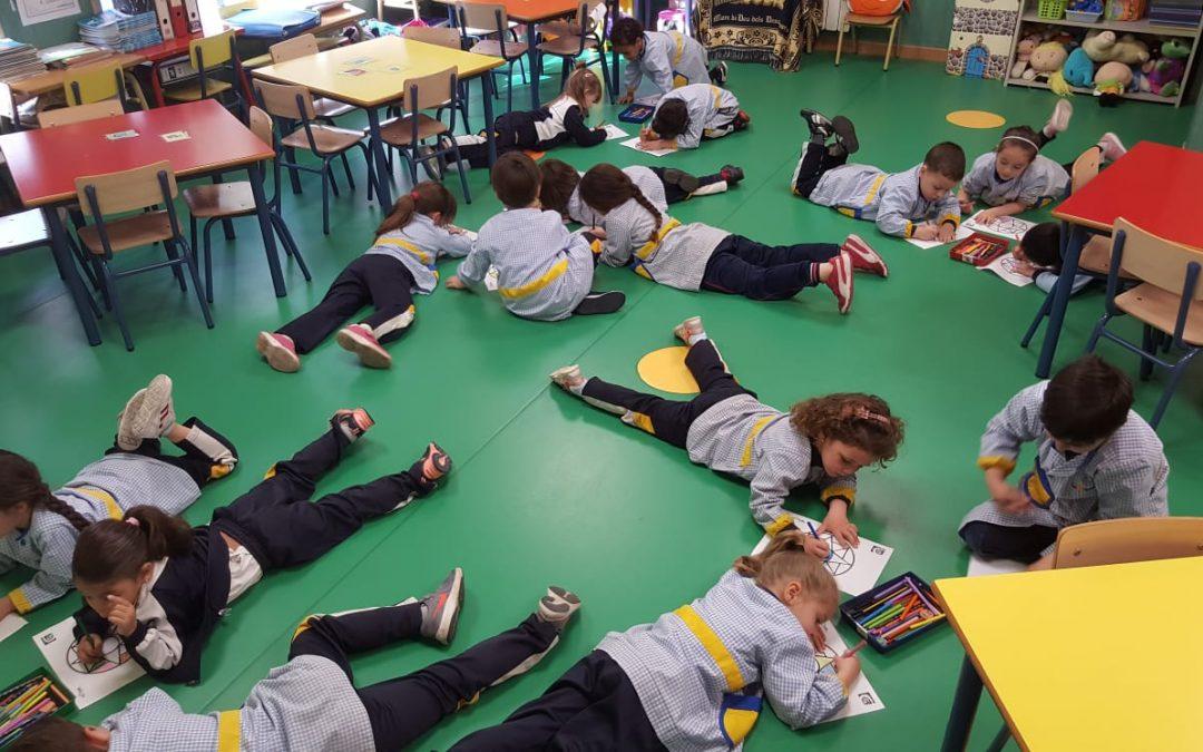 Sesión de HARA con mandalas en infantil