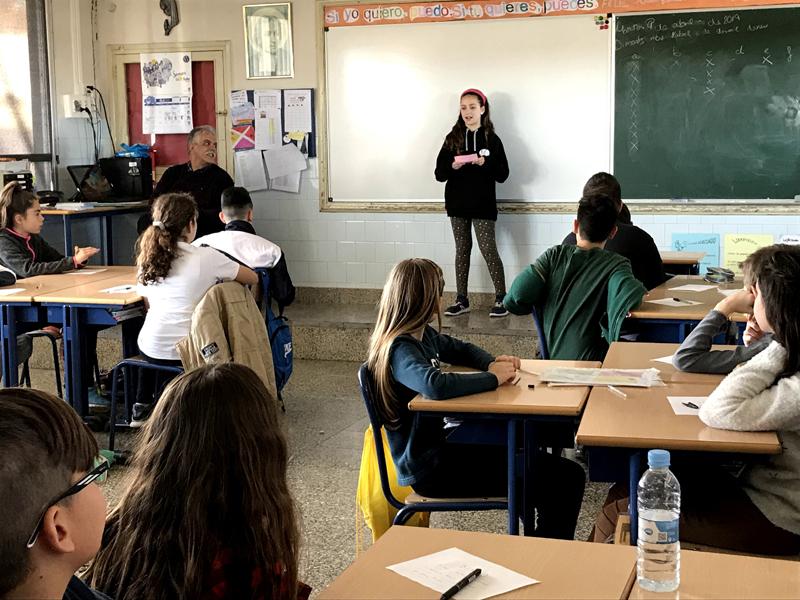 Un grupo de alumnos de la Escuela forma parte del Consejo Local de Infancia y Adolescencia de Paterna