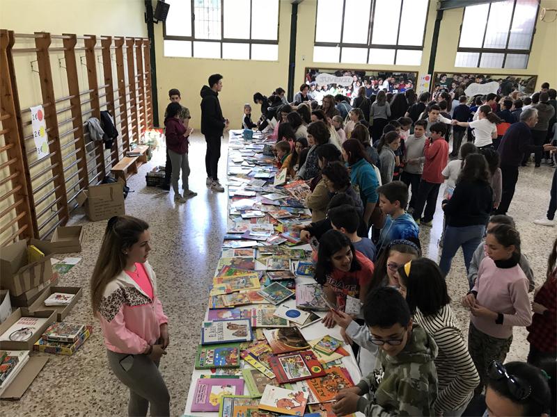 Éxito de participación en la Feria del Libro