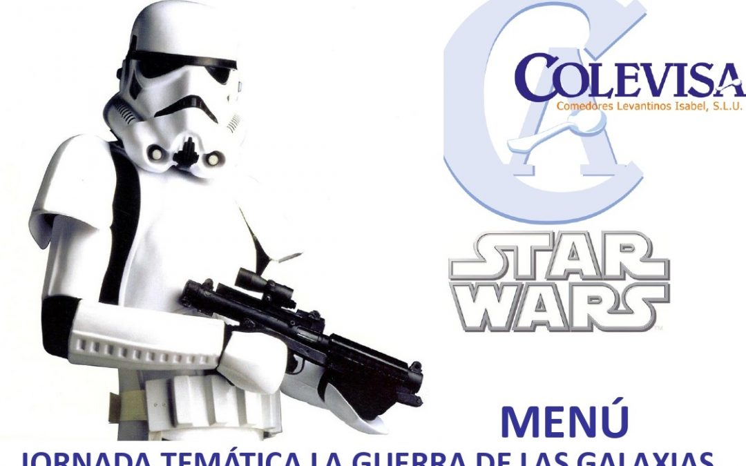 Fiesta de Star Wars en el comedor el próximo lunes
