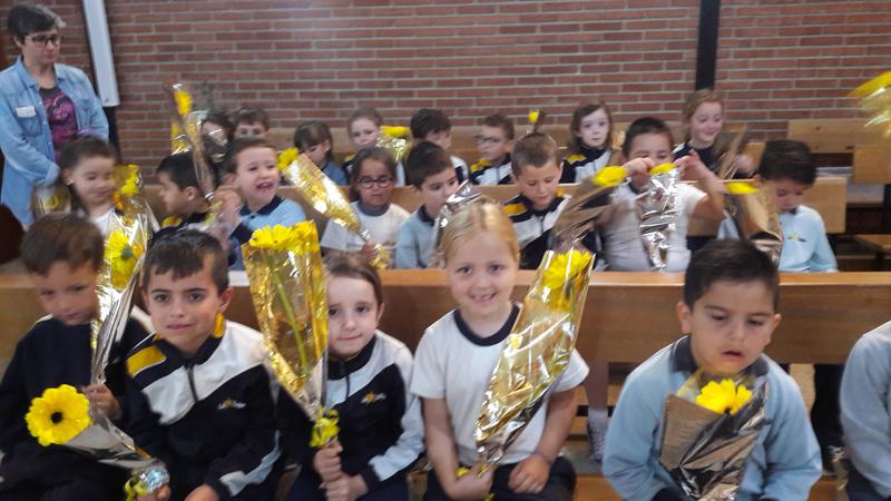 Fiestas en honor a San Juan Bautista de La Salle en infantil