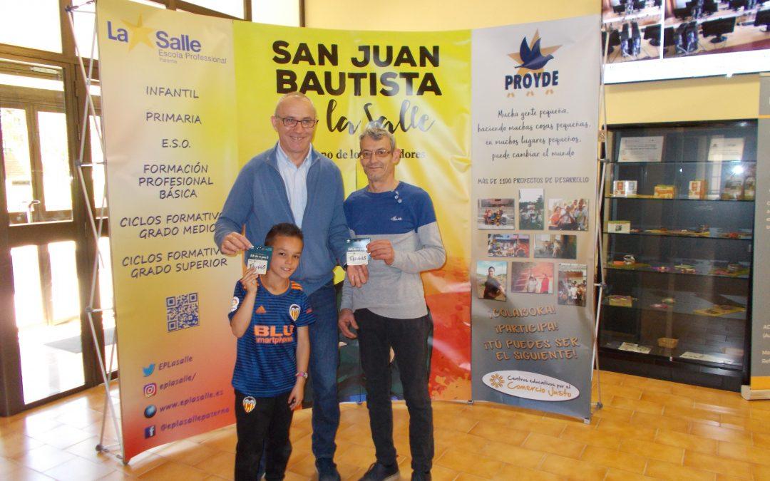 Entrega de premios Rifa Proyde