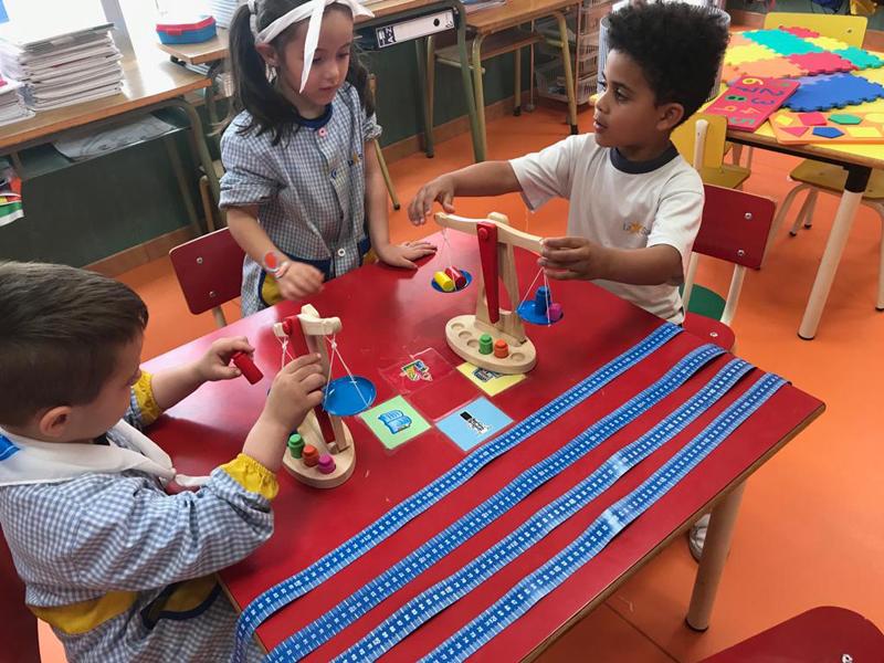 En infantil trabajan de nuevo los ambientes de aprendizaje