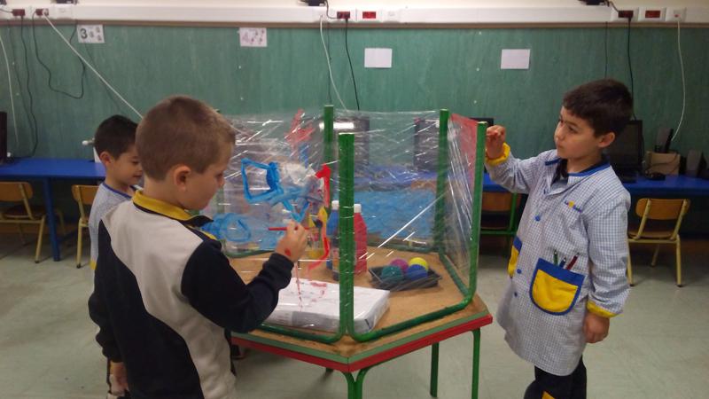 Trabajo por ambientes en Infantil