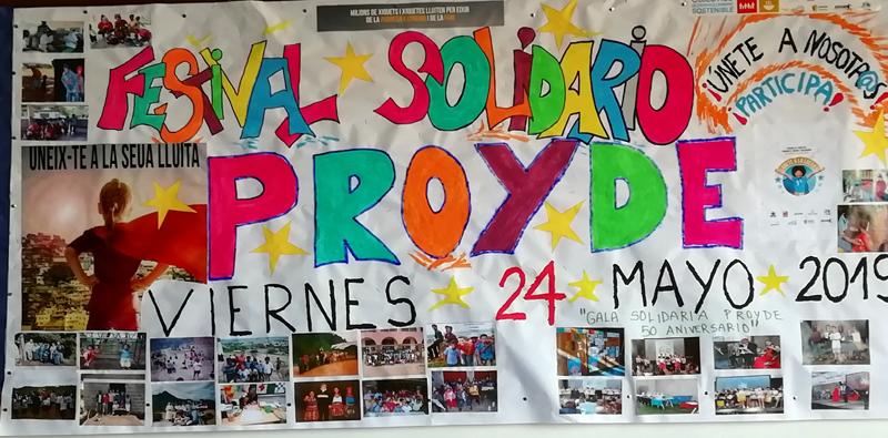 Del 20 al 24 de mayo celebraremos la campaña de PROYDE en la Escuela Profesional La Salle