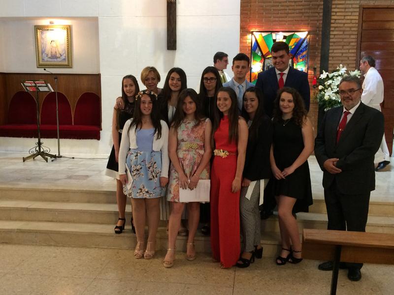 Los alumnos de 4oESO de la Escuela Profesional se han confirmado en la Parroquia Virgen de los Desamparados de Paterna