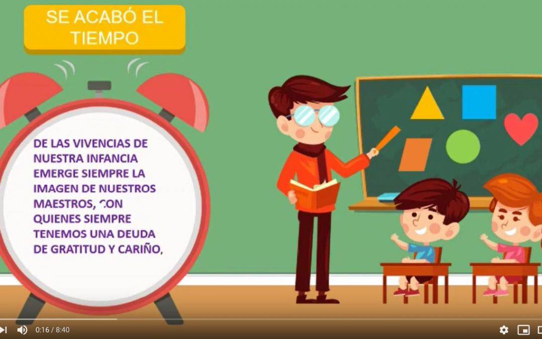 Sorpresa de los alumnos de infantil a las maestras