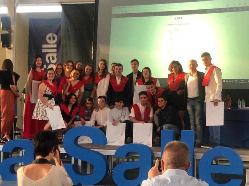 Graduaciones en la Escuela Profesional La Salle