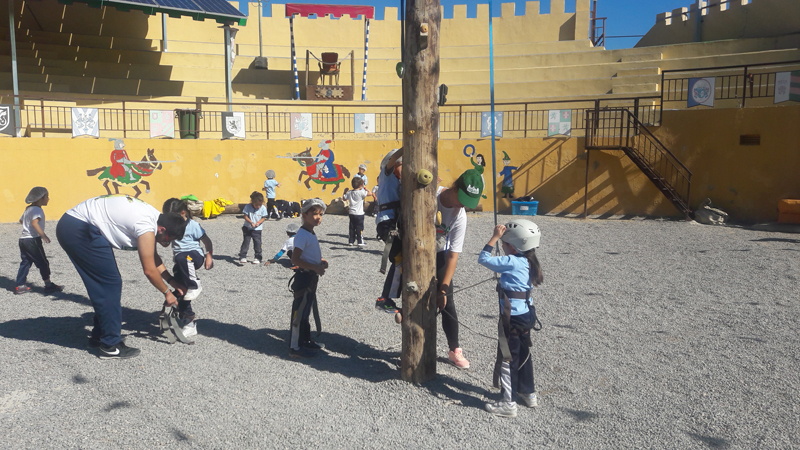Visita de infantil al Parque Adai