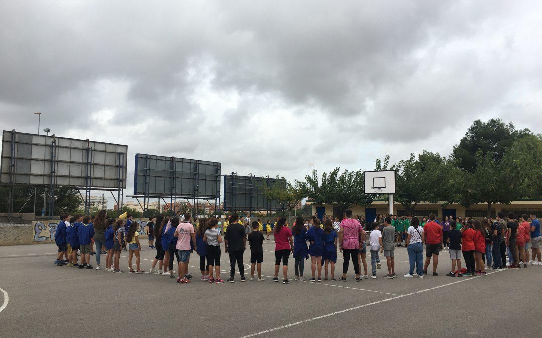 Inicio de la ronda del Grupo Scout Alborxí – La Salle
