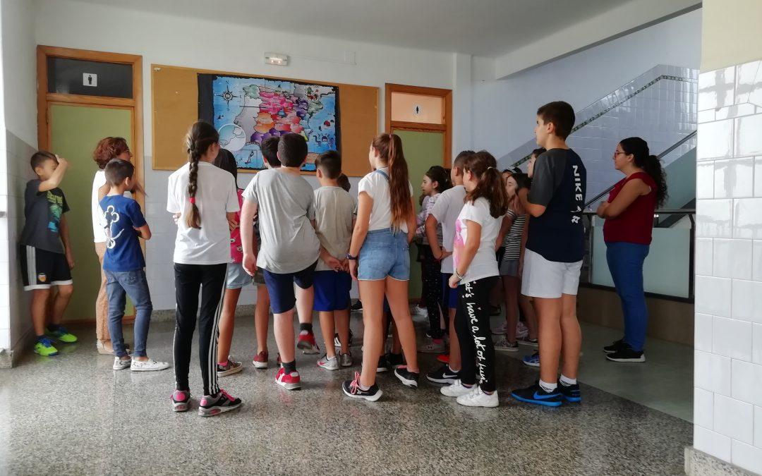 Infantil y Primaria se suman al proyecto escolar 'El camino de PiEFcitos'