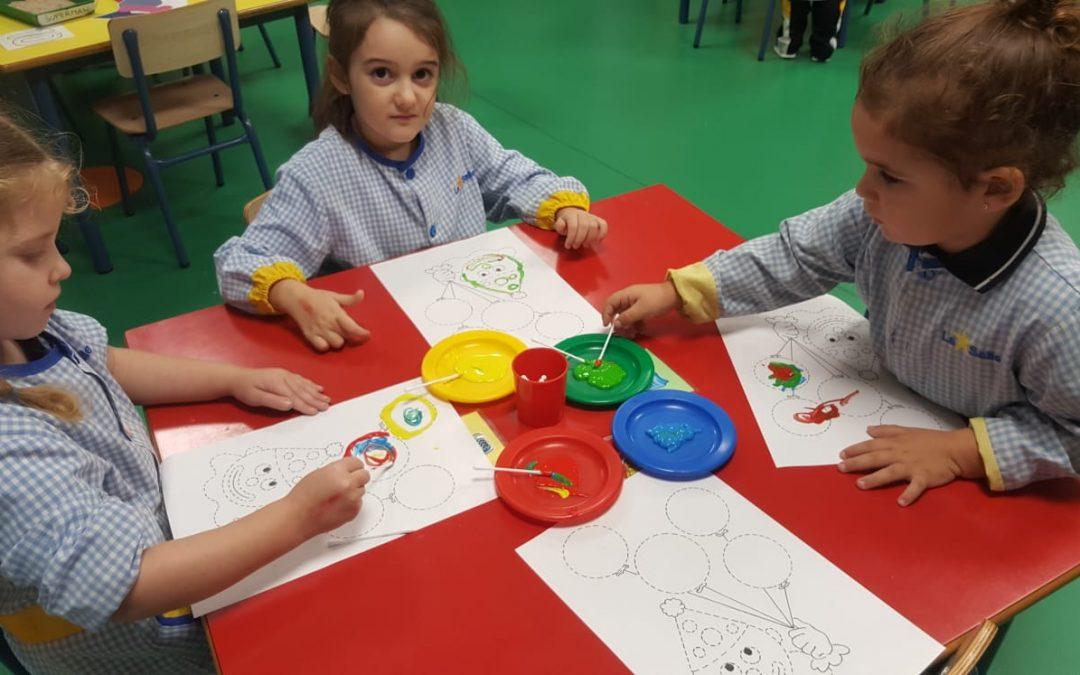 En infantil trabajan los ambientes de aprendizaje