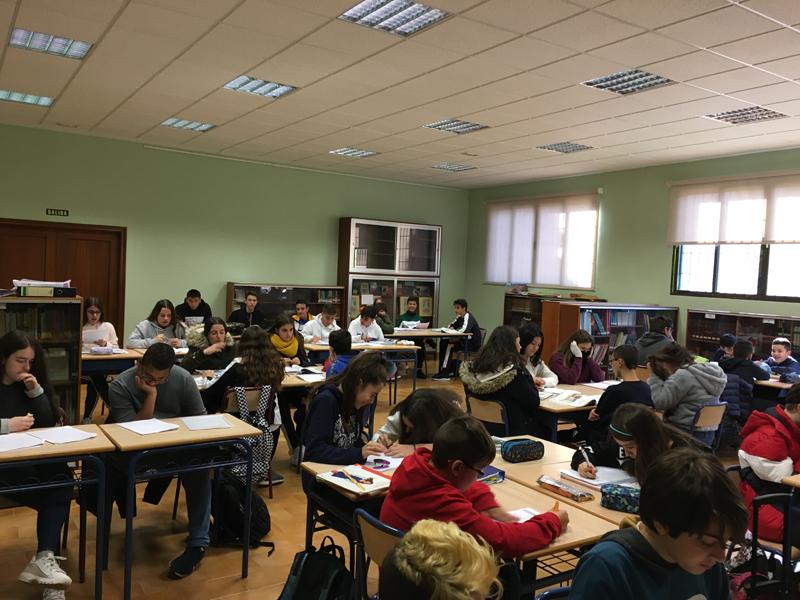 Preparación para la semana de exámenes en ESO