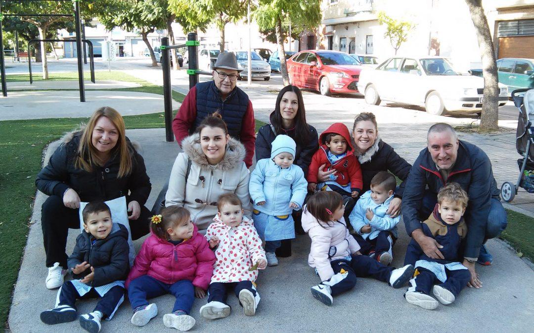 Salida de infantil al Parque de la Avenida Europa para conocer paisajes otoñales