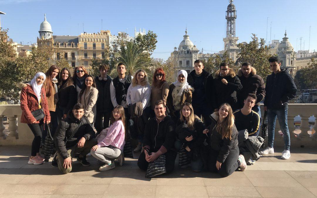 Visita financiera en el centro de Valencia