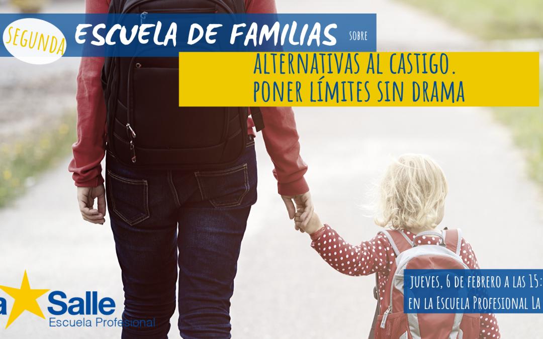 El Departamento de Orientación ofrece una sesión de Escuela de Familias sobre las alternativas al castigo el próximo 6 de febrero