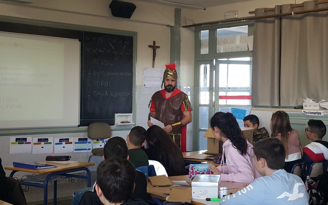 En 1º de ESO se pone en marcha el Proyecto Roma