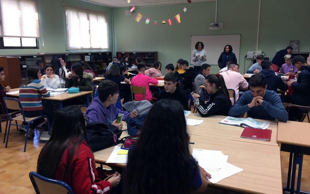 La biblioteca se llena por los exámenes finales de la 2ª evaluación