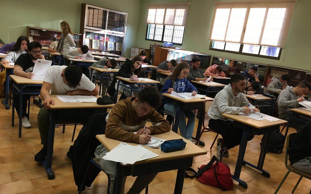 La Escuela Profesional realiza las pruebas para la obtención del A2 de inglés
