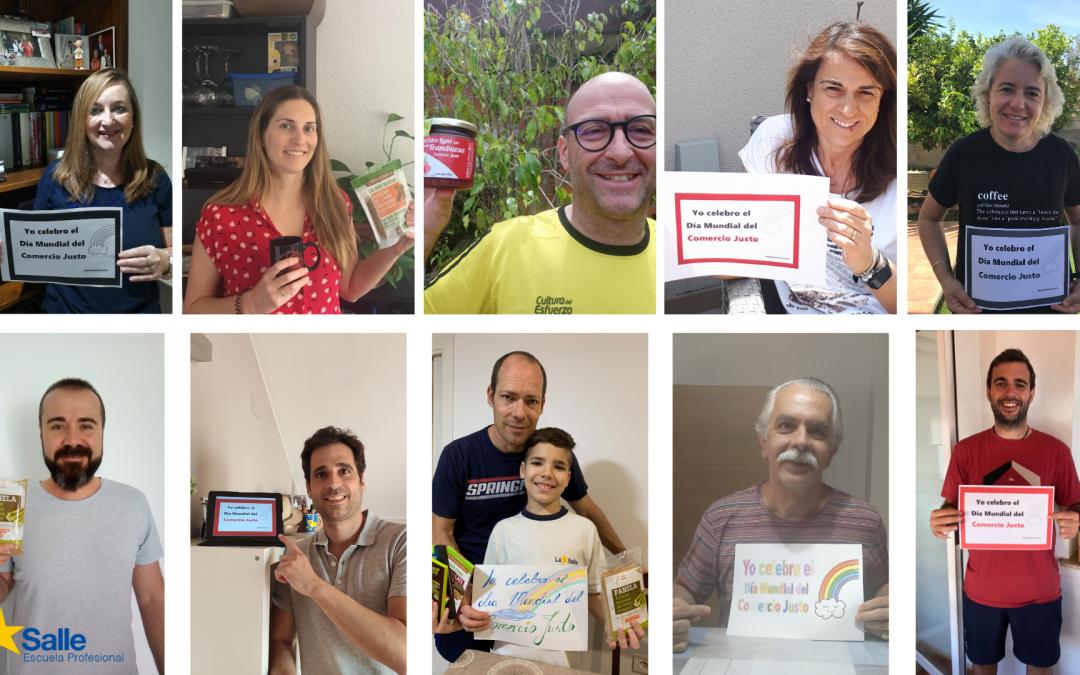 Celebración del Día Mundial del Comercio Justo a través de las redes sociales
