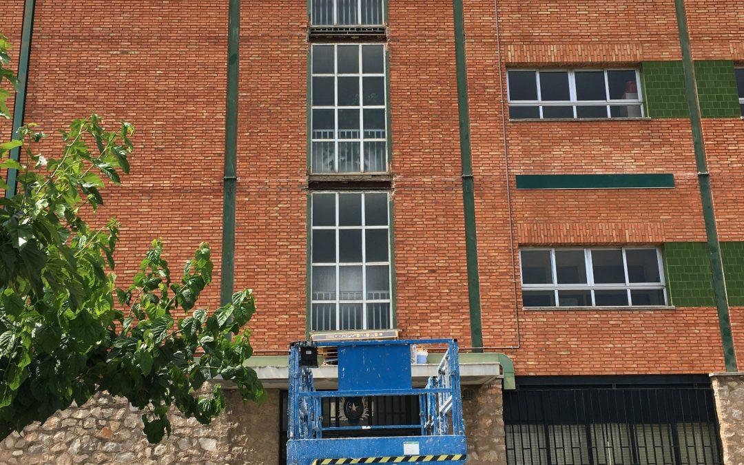 Nuevas  obras de mejora en la Escuela Profesional La Salle
