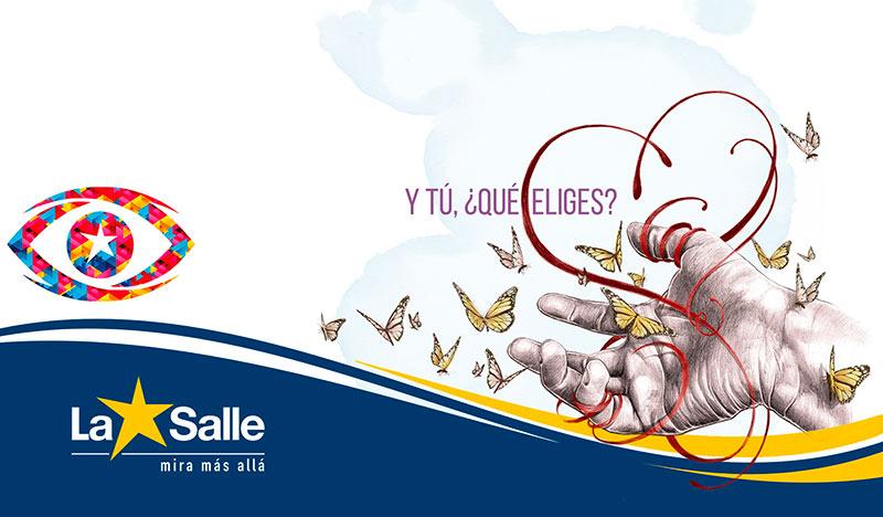 """""""Y tú, ¿qué eliges?"""", lema con el que La Salle da la bienvenida al curso 2020-21"""