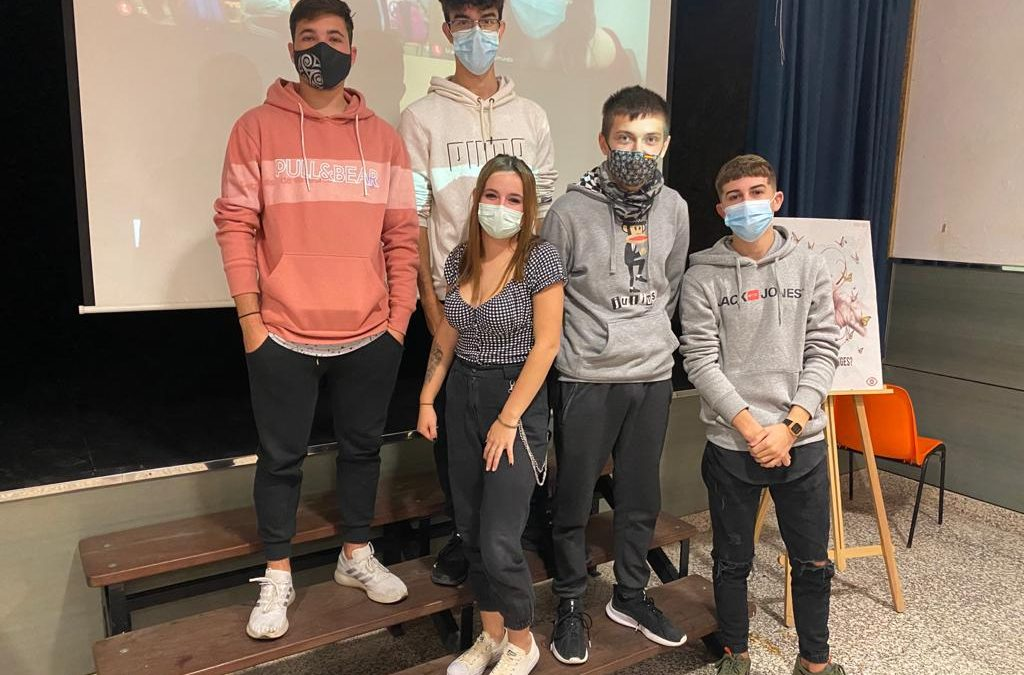 Los alumnos de 4º de ESO acuden a su primera Asamblea Orientativa del curso