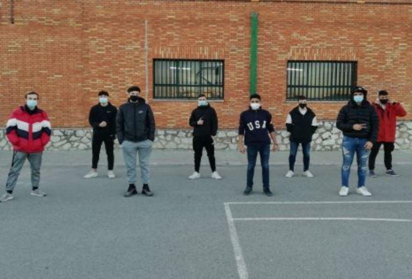 Un grupo de alumnos de 1º de EMV comienza las prácticas de FP Dual