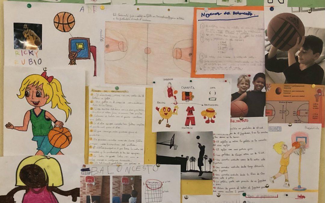 Los alumnos de primer ciclo de primaria empiezan el proyecto «El deporte del mes» en Educación Física