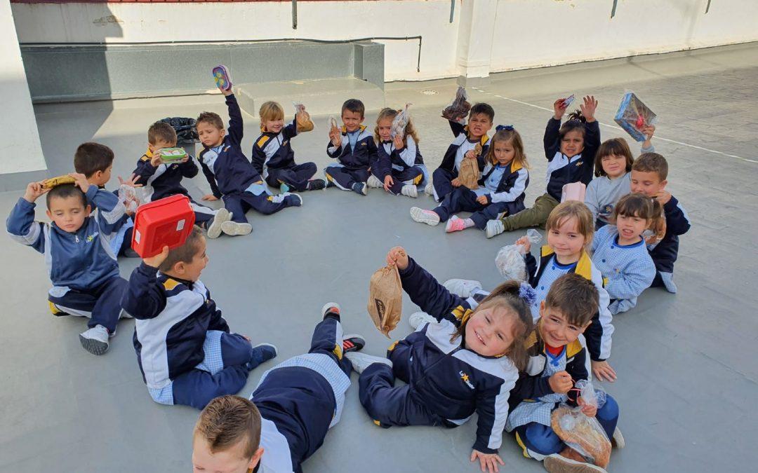 Celebración de Pascua en la Escuela Infantil Desamparados y en la Escuela Profesional La Salle