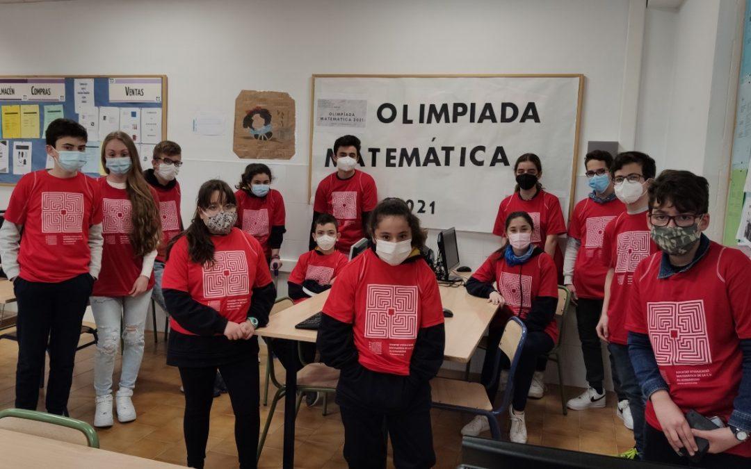 En la Escuela Profesional celebramos la fase comarcal de la XXXI Olimpiada Matemática de SEMCV para nuestros alumnos