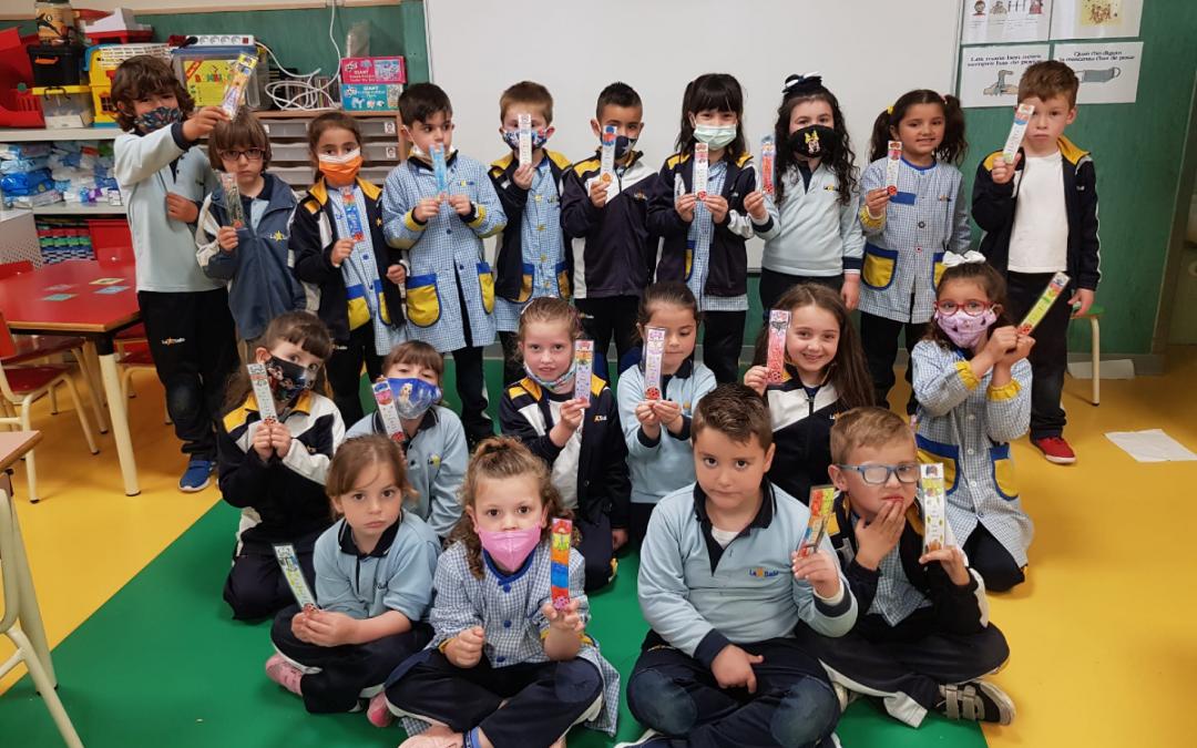 Celebramos el día del libro en nuestra Escuela Infantil Desamparados