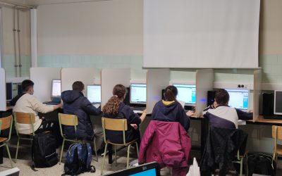 Un grupo de alumnos de secundaria participa la IX Edición del Concurso de Matemáticas Pangea