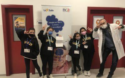 El equipo de investigación de primaria, ALUANOR, descubre la innovadora metodología de la Salle NCA